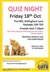 Quiz Night in aid of Cats Protection