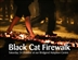 Black Cat Fire Walk!