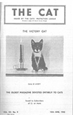 The Cat cover 1945