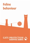 Feline behaviour leaflet cover