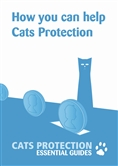 How you can help Cats Protection leaflet cover