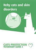 Itchy cats and skin disorders cover