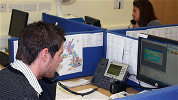CP's National Information Line at work