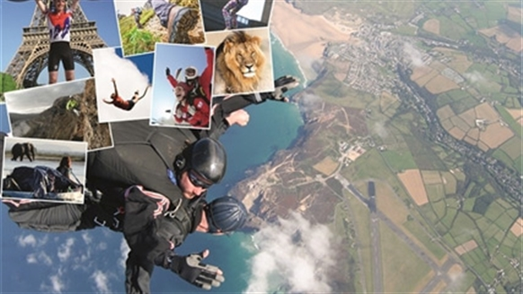 Skydiving and other events