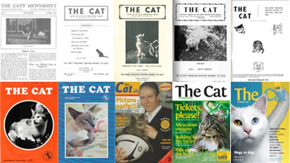 The Cat mag covers - 1930-2018