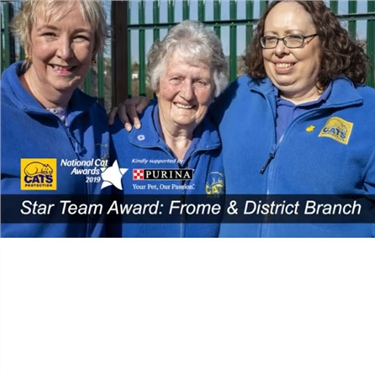 Update - WE WON! Frome Branch Nominated for Star Team Award - Please Vote for Us!