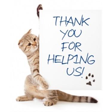 Thank you Pets Corner