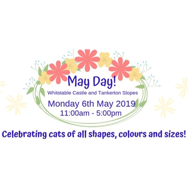 Event: Cats Protection at Whitstable Castle on May Day