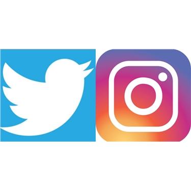 New Social Media Accounts