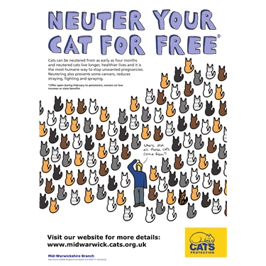 February is FREE NEUTERING MONTH!!!