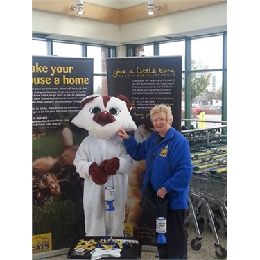 Thank you to the shoppers at Morrisons in Hartcliffe on Saturday 25/10/2014