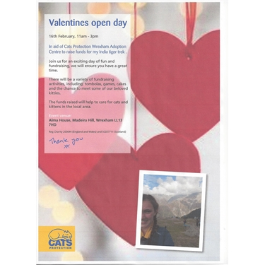 Valentines open day