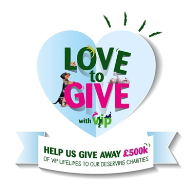 £500k Pets at Home VIP Lifelines campaign - we need your vote!