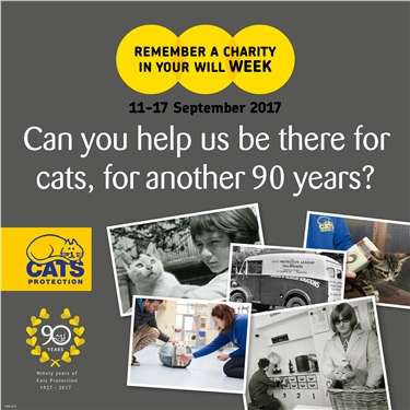 Remember A Charity Week - 11-17th September 2017