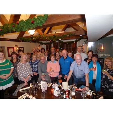 Annual Christmas Volunteers Meal
