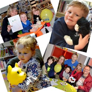 Sharing ideals at Shard End library