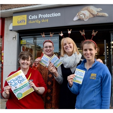 CP charity shop reveals its November quiz team ...