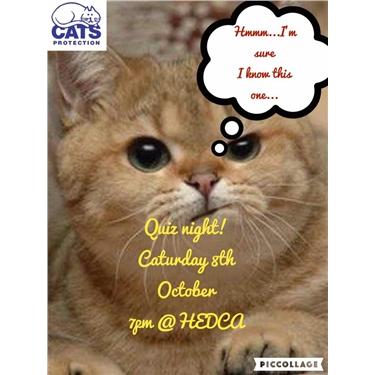 QUIZ NIGHT - Sat 8th Oct