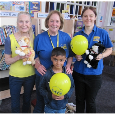 Kids enjoy cat-craft and feline-fun at Erdington library ...