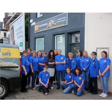 South Ayrshire Cats Protection opens new Information and Education Centre