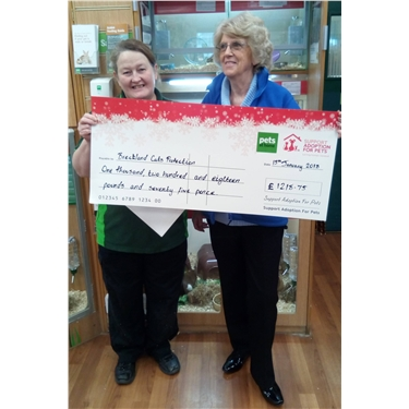 PETS AT HOME CHEQUE