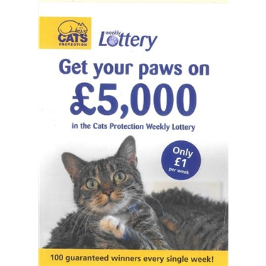 Are you playing the Cats Protection Lottery?