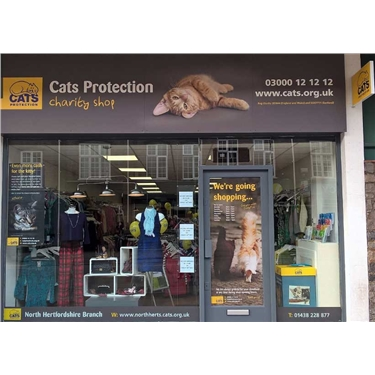 North Herts Cats Protection Shop NOW OPEN