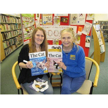 Tower Hill library invites Cats Protection in ...
