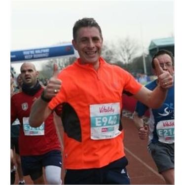 London Marathon - Chris Durham