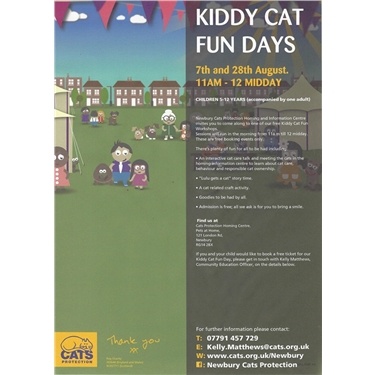 Kiddy cat fun Day - Free!