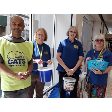 Asda Perry Barr : a bucketful of thanks!