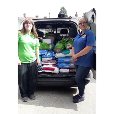 Lowestoft Pets At Home Donation