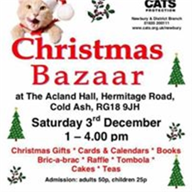 Mayor and Mayoress of Newbury to open Christmas Bazaar