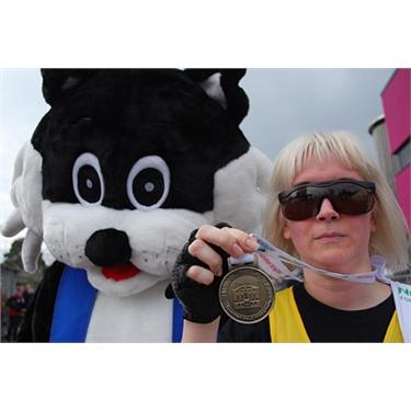 Louise completes Half Marathon