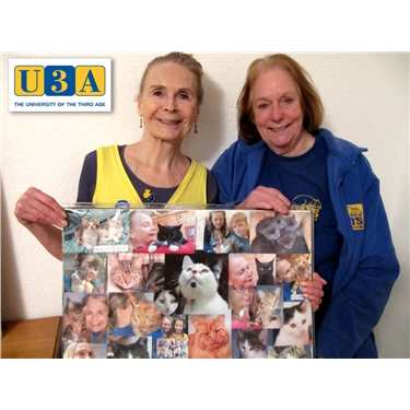 U3A members learn about Cats ...
