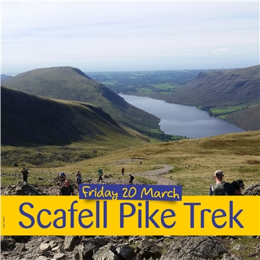 Participate in the Scafell Pike Challenge to raise money for Cats Protection