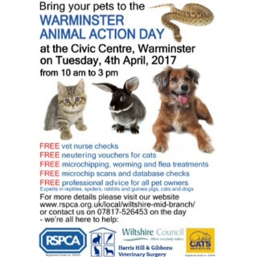 Warminster Animal Action Day