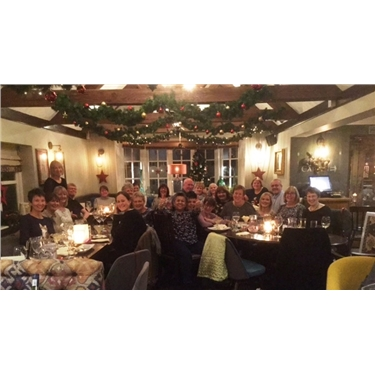 Cats Protection volunteers annual Christmas meal