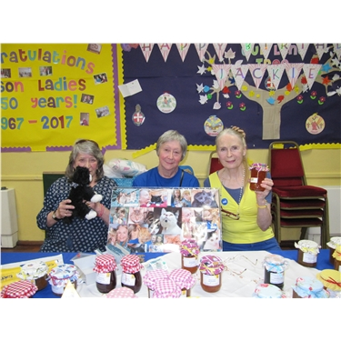 Gilson Ladies enjoy 50th birthday cat tales