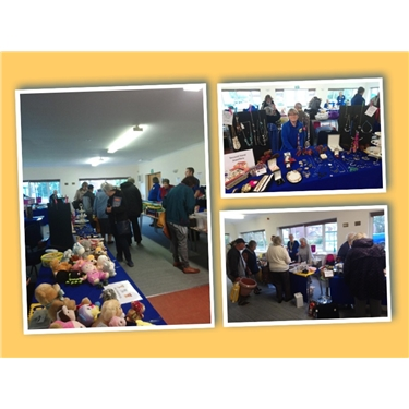 Soggy but successful at our Autumn fair!