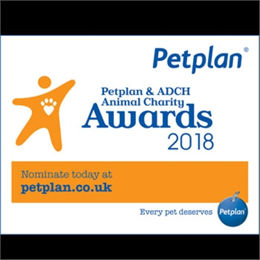 Petplan and the Association of Dogs and Cats Home (ADCH) Animal Charity Awards 2018