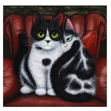Feline Art Exhibition raises cash for cats