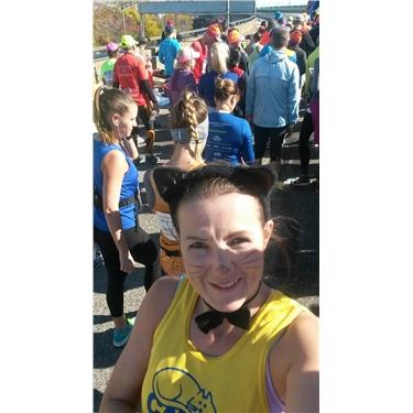 Congratulations Charlotte on your NY marathon run!