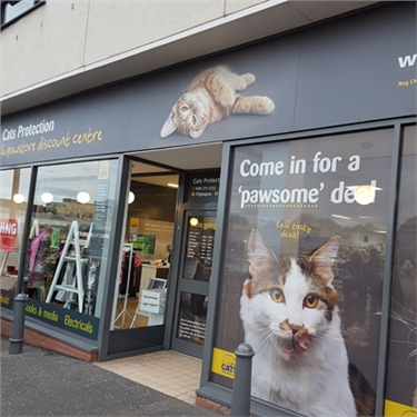 Cats Protection Glasgow Branch SUPAWSTORE Charity Shop