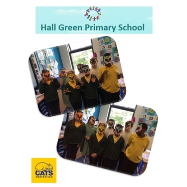 Pam talks pets at Hall Green Primary ...