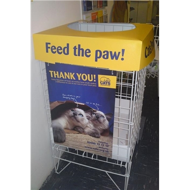 Donations of cat food