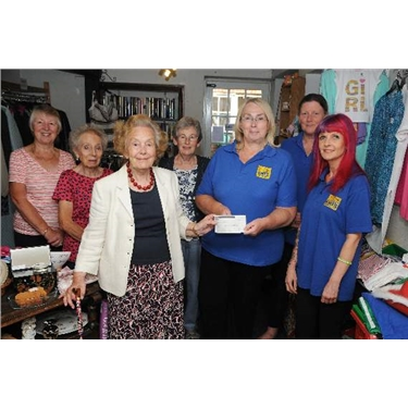 Fantastic Donation from The Downing Street Charity Shop