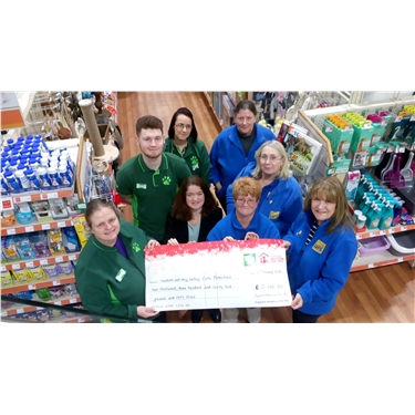 Over £2000 Raised in Santa Paws Appeal