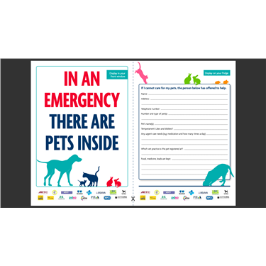 Emergency pet care forms