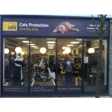 New Cats Protection Charity Shop Open